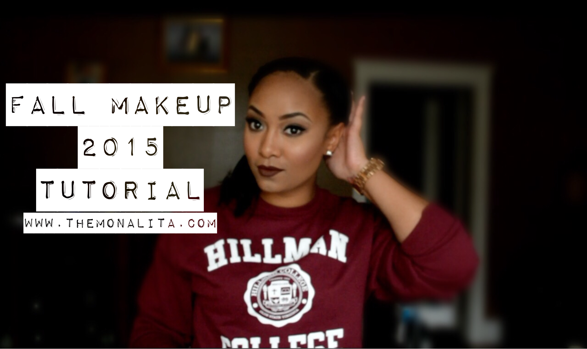fall makeup 2015 tutorial